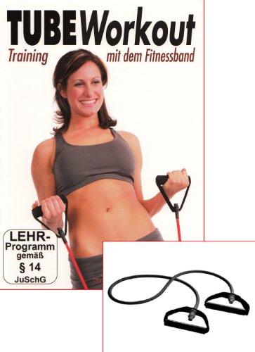 Tube Workout - Training mit dem Fitnessband - DVD & Fitnessband