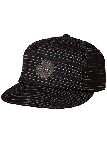 O'Neill Herren Bm Wilderness Cap Streetwear Kappen, Black Aop W/ Yellow, One Size