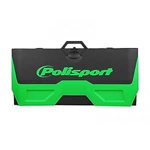 Tapis récupérateur polisport bike mat bicolore vert/noir - Polisport PS030GR02