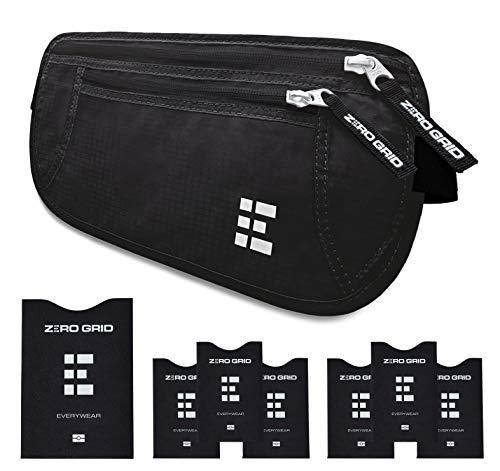 Cinturón de Viaje para Dinero con Bloqueo RFID - Cartera...