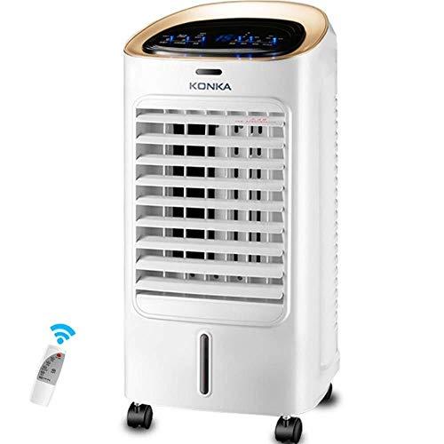 MA SOSER Raffreddamento ad aria 3 in 1 Funzione Umidificazione Raffreddamento e purificazione dell'aria, 15 ore di temporizzazione e display a LED, funzionamento del telecomando intelligente, climatiz