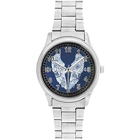 Oksana Men's personalized Stainless Steel Watch Ghost Stories Coldplay custom watch