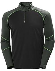 Helly Hansen Phantom 1/2 Zip Midlayer - Camiseta para hombre, color gris, talla XL