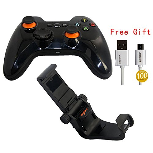 PXN Drahtlos Gaming Controller Gamepad Bluetooth für Handy PC Android TV box Tablet Schwarz Bc Compact