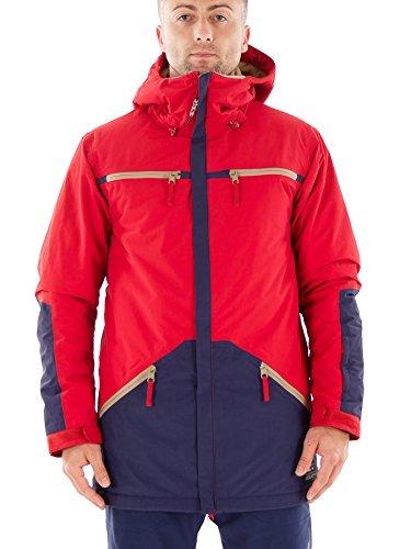 O'Neill Skijacke Winterjacke Altitude rot Thinsulate wasserdicht (M)