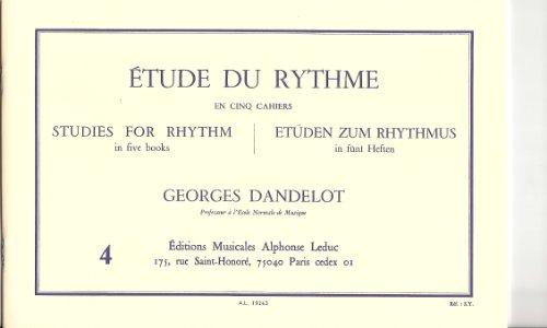 ETUDE DU RYTHME VOLUME 4