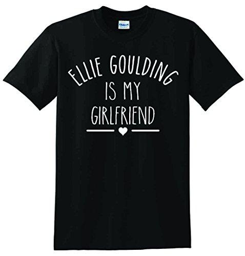 Ellie Goulding ist meine Freundin Unisex T-Shirt Schwarz