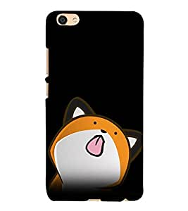 A2ZXSERIES Animated Cat Pattern Back Case Cover for Vivo X7 / Vivo X7 Printed Back Cover
