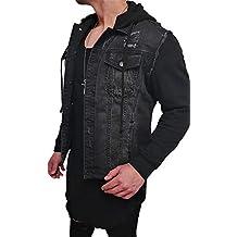 premium selection 1db3d 02175 Suchergebnis auf Amazon.de für: jeansjacke mit stoffärmeln ...