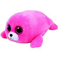 Ty - Beanie Boos Pierre, Foca, 15 cm, Color Rosa (United Labels