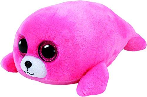 """Beanie Boo Seal - Pierre - Pink - 15cm 6"""""""