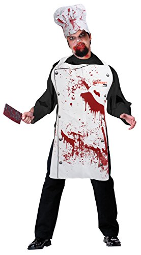 Bristol Novelty ds164 Chef Set Bloody (Schürze und Hat), One Size