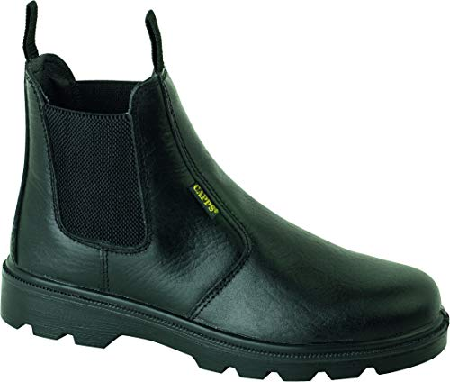 S3 SRC Capps LH410 SM S3 M SRC BLACK WR METATARSAL BOOT WITH PU//PU OUTSOLE