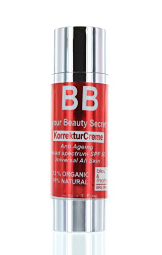 Veana bleu & marine BB Cream SPF 50 all natural, 1er Pack (1 x 30 ml)