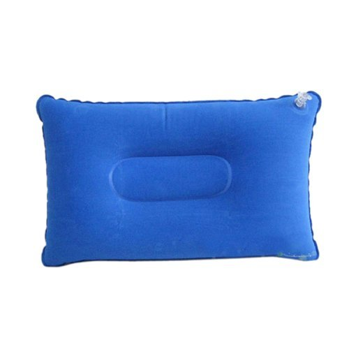 Fablcrew Portable Tissu Oreiller de Voyage Oreiller Gonflable Coussin d'air pour randonnée Camping Taille S Bleu