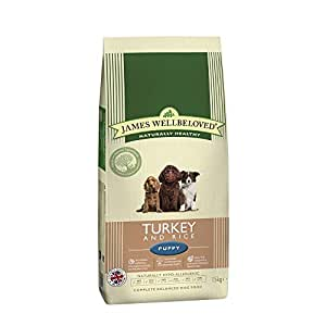 James Wellbeloved Puppy Food Turkey and Rice Kibble 15 kg