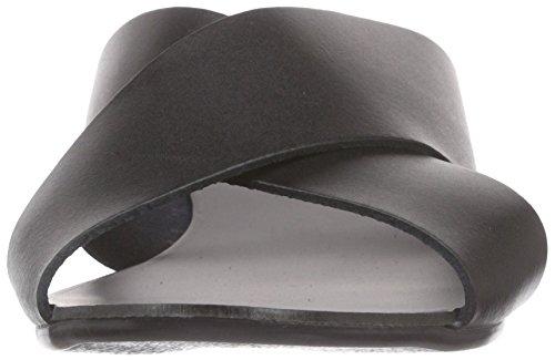 PIECES - Psjama Leather Sandal, Ciabatte Donna Nero (Nero (nero))