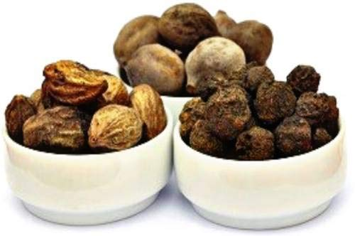 Pinkdose Beste Qualität Getrocknete Triphala - Harad + Amla + baheda - 250 Gramm x 3 = 750 Gramm Packung Seed