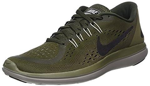 Nike Flex 2017 Rn, Chaussures de Trail Homme, Multicolore (Sequoia/Black-Med Olive-Dust), 39 EU