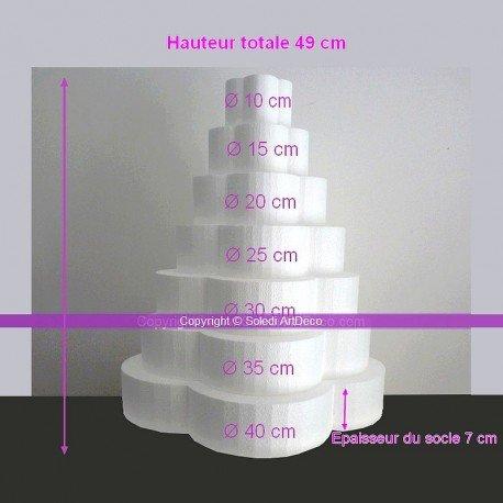 piece-montee-fleur-en-polystyrene-plein-hauteur-49-cm-support-7-etages-de-7cm-base-du-socle-40cm-de-