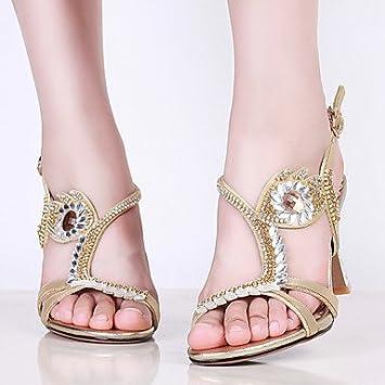 Shoes For Women Heel Heels Peep Toe Sandals Heels Party Evening Dress Dress Casual Purple Silver