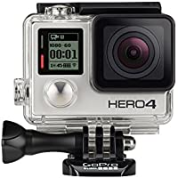 GoPro HERO4 12.0MP Silver Edition Camera with HERO4 Dual Battery Charger + Battery and 16GB microSD Card