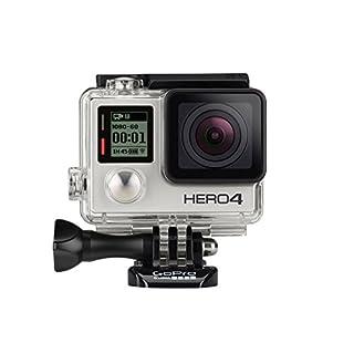 GoPro HERO4 Silver Adventure Actionkamera (12 Megapixel, 41,0 mm x 59,0 mm x 29,6 mm) (B00O32GPKK) | Amazon price tracker / tracking, Amazon price history charts, Amazon price watches, Amazon price drop alerts