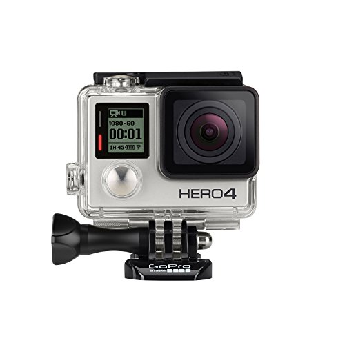GoPro HERO4 Silver Edition Adventure (12 Mp, Wi-Fi, Bluetooth, sumergible hasta 40 m),