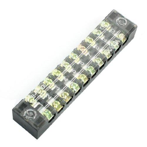 Deaktivieren Sie Cover 15A Dual Zeile 10 poliger Barrier Klemmleiste Kabelsteck de