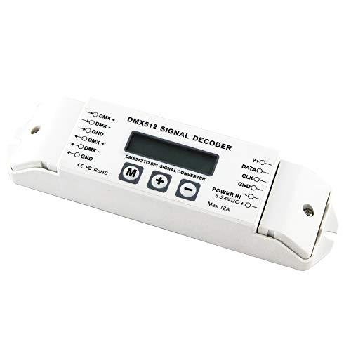 cherrypop Bc-820 Convertitore Decodificatore DMX To SPI Dmx512 Lpd6803 8806 Regolatore Ws2811 / 2801 Ws2812B 9813 LED Dc5V-24V