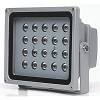 as - Schwabe 46921 20W Profi-LED-Strahler mit Zuleitung 2 m H05RN-F 3G1.0, IP65 Gewerbe, Baustelle