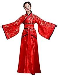 Moberlin Cinese Hanfu Elegante Antico Costume Tang Suit Performance sul  palco Vestito per Donne 174e5a96f07