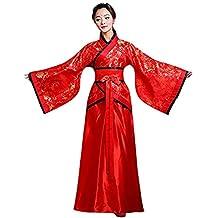 Deylaying Tradizionale Cinese Antico Hanfu - Elegante Retro Tang Suit  Costume Performance sul palco Vestito per 59839366436