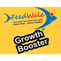 FeedWale Growth Booster Plus 1Kg for Faster Growth of Pond BioFloc RAS Cages Aquaculture Fishes