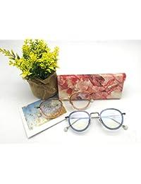 HSDDA Faltbares Dreiecks-Brillenetui Sonnenbrillenetui Hartbrillenetui