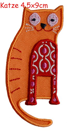 2-ecussons-patch-appliques-chat-4x10cm-gland-7x8cm-thermocollant-brode-broderie-pour-vetement-jeans-