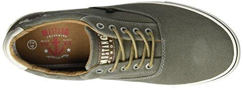 Mustang 4101-301, Baskets Basses Homme Vert (777 Khaki)