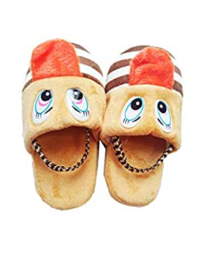 Mancloem Your's Favourite Warm Home Bedroom Winter Cotton Indoor Shoes/Slipper for Baby Boys & Girls (0-2 Years, Boy's Color)