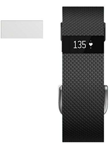 dipos I Schutzfolie matt passend für FitBit Charge / Charge HR Folie Displayschutzfolie