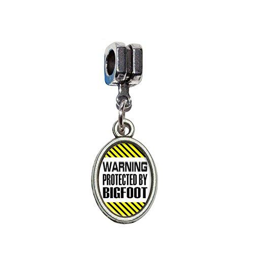 ACHTUNG geschützt von Big Foot Italienische europäischen Euro-Stil Armband Charm Bead–für Pandora, Biagi, Troll,, Chamilla,, ()