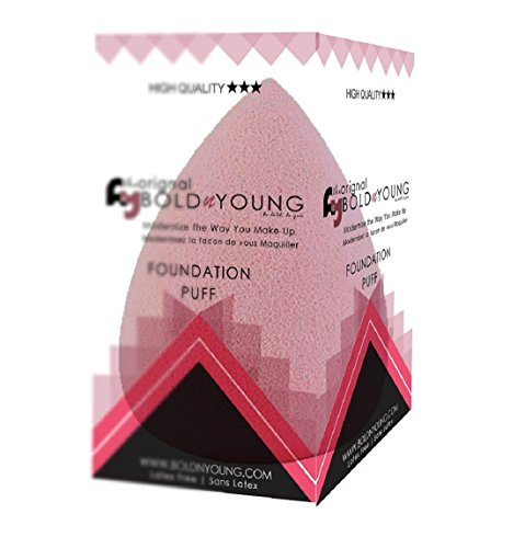 BoldnYoungWater Drop Makeup Blending Powder Puff Sponge, Multi (Pack Of 1)