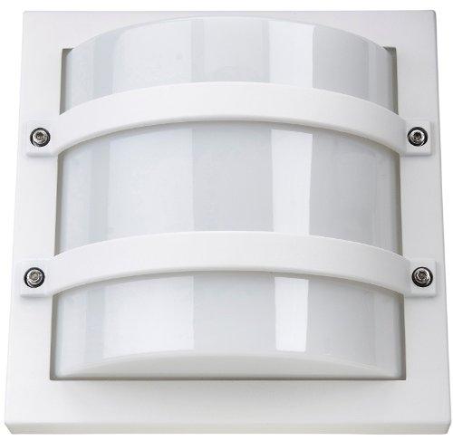 SG-Leuchten Außen-Wandleuchte Largo E27 CFL, weiß/opal 611560 -