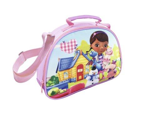 Joy Toy 116303 - Disney Doc McStuffins Tasche zum Umhängen, 26 x 8 x 20 cm