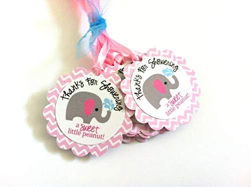 Adorebynat Party Decorations - EU Gracias por duchas Elefantes Favor de la...