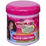African Pride Dream Kids Olive Miracle Leave-In Conditioner 15oz (2 Pack) by African Pride