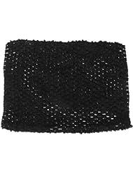 Filles Tutu Jupe Rose Top Tube Crochet Ceinture élastique Serre-tête 23 * 20cm