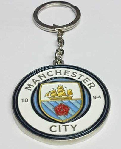 b9e00d5fb87523 Manchester City Key Ring New Club Crested by Man City