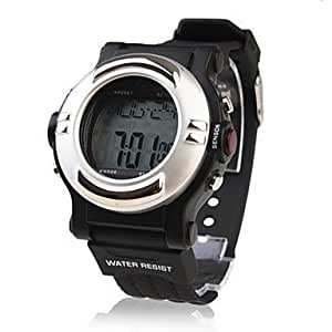 Waterproof Pulse Heart Rate Monitor Calories Counter Automatic Watch with Alarm