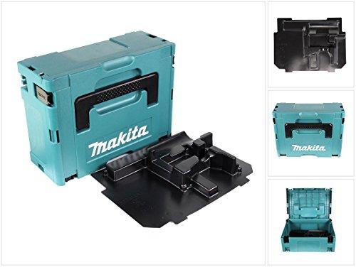 Makita MAKPAC 2 Systemkoffer - mit Einlage für 14 V und 18 V Schrauber BHP / DHP / BDF / DDF