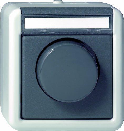 031430 Drehzahlsteller Wassergeschützt Aufputz 0.1 - 2.1 A, grau